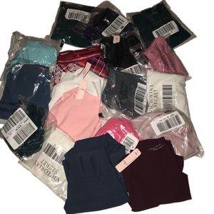 Victoria Secret mystery bundle of 5 panties sz XL
